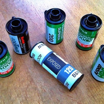 Exposed Film Ready For Processing