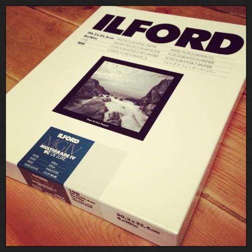 Ilford Paper