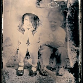 Silver Gelatin Print from an Ambrotype