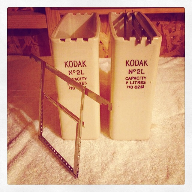 Kodak Sheet Film Tanks